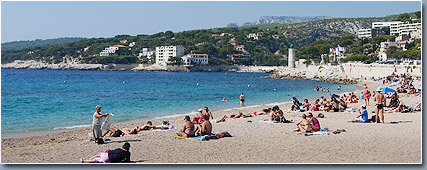 Plage Cassis